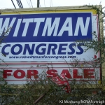 Funny Sign: How Much Does the Congressman Cost?