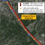 All Lanes on I-395 North to Close Next Weekend
