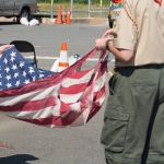 Properly Dispose of Old Flags at Facility in Manassas